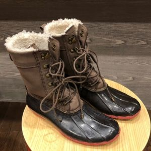 Sperry Top-sider duck boots size 9